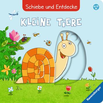 Schiebe und Entdecke: Kleine Tiere Baby und Kleinkind;Bücher - Bild 1 - Ravensburger