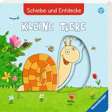 Schiebe und Entdecke: Kleine Tiere Baby und Kleinkind;Bücher - Bild 2 - Ravensburger