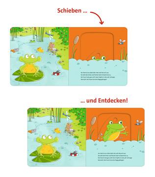 Schiebe und Entdecke: Kleine Tiere Baby und Kleinkind;Bücher - Bild 3 - Ravensburger
