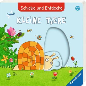 Schiebe und Entdecke: Kleine Tiere Baby und Kleinkind;Bücher - Bild 6 - Ravensburger