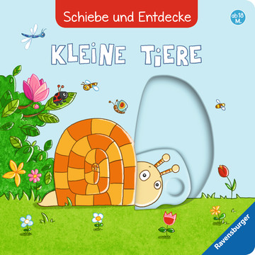Schiebe und Entdecke: Kleine Tiere Baby und Kleinkind;Bücher - Bild 7 - Ravensburger