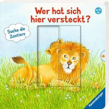 Wer hat sich hier versteckt? Suche die Zootiere Baby und Kleinkind;Bücher - Bild 2 - Ravensburger
