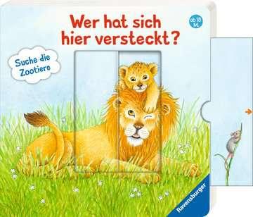 Wer hat sich hier versteckt? Suche die Zootiere Baby und Kleinkind;Bücher - Bild 6 - Ravensburger