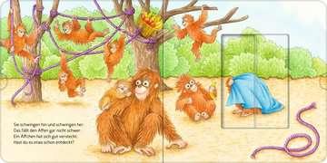 Wer hat sich hier versteckt? Suche die Zootiere Baby und Kleinkind;Bücher - Bild 9 - Ravensburger