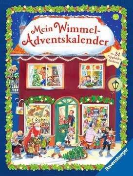 43704 Babybücher und Pappbilderbücher Mein Wimmel-Adventskalender von Ravensburger 1