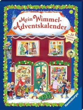 43704 Babybücher und Pappbilderbücher Mein Wimmel-Adventskalender von Ravensburger 2