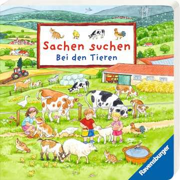 43704 Babybücher und Pappbilderbücher Mein Wimmel-Adventskalender von Ravensburger 3