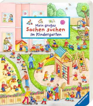 43706 Babybücher und Pappbilderbücher Mein großes Sachen suchen: Im Kindergarten von Ravensburger 2