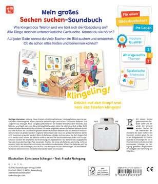 43733 Babybücher und Pappbilderbücher Sachen suchen, Sachen hören: Meine Welt von Ravensburger 3