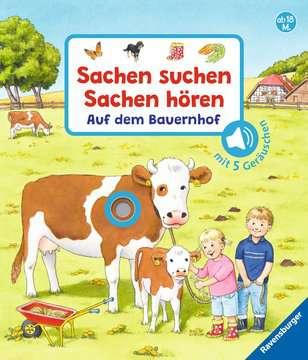 43734 Babybücher und Pappbilderbücher Sachen suchen, Sachen hören: Auf dem Bauernhof von Ravensburger 1