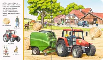43734 Babybücher und Pappbilderbücher Sachen suchen, Sachen hören: Auf dem Bauernhof von Ravensburger 4