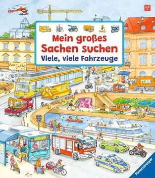 43742 Babybücher und Pappbilderbücher Mein großes Sachen suchen: Viele, viele Fahrzeuge von Ravensburger 1