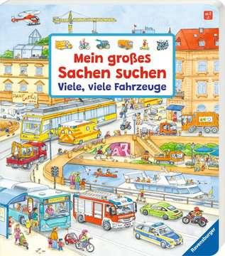 43742 Babybücher und Pappbilderbücher Mein großes Sachen suchen: Viele, viele Fahrzeuge von Ravensburger 2