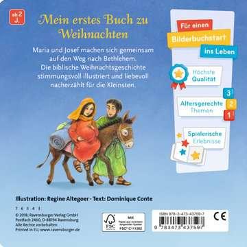 43759 Babybücher und Pappbilderbücher Die Weihnachtsgeschichte von Ravensburger 3