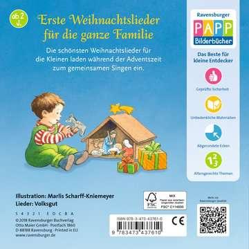 43761 Babybücher und Pappbilderbücher Meine ersten Weihnachtslieder von Ravensburger 3