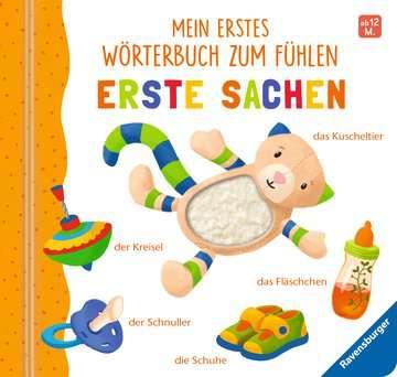 43766 Babybücher und Pappbilderbücher Mein erstes Wörterbuch zum Fühlen: Erste Sachen von Ravensburger 1