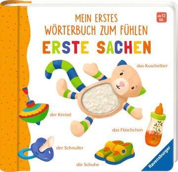 43766 Babybücher und Pappbilderbücher Mein erstes Wörterbuch zum Fühlen: Erste Sachen von Ravensburger 2