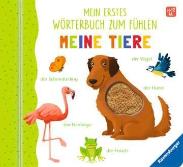 43767 Babybücher und Pappbilderbücher Mein erstes Wörterbuch zum Fühlen: Meine Tiere von Ravensburger 1