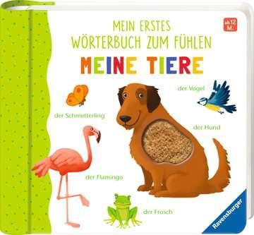 43767 Babybücher und Pappbilderbücher Mein erstes Wörterbuch zum Fühlen: Meine Tiere von Ravensburger 2