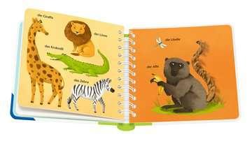 43767 Babybücher und Pappbilderbücher Mein erstes Wörterbuch zum Fühlen: Meine Tiere von Ravensburger 4