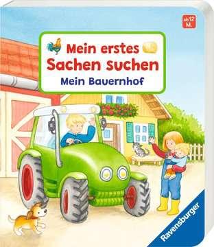 43769 Babybücher und Pappbilderbücher Mein erstes Sachen suchen: Mein Bauernhof von Ravensburger 2