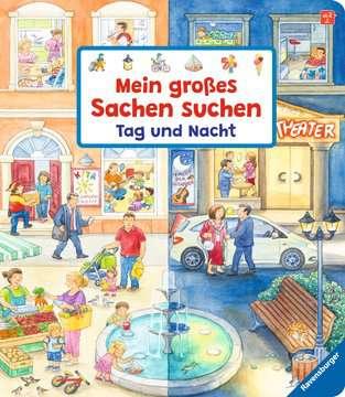 43770 Babybücher und Pappbilderbücher Mein großes Sachen suchen: Tag und Nacht von Ravensburger 1