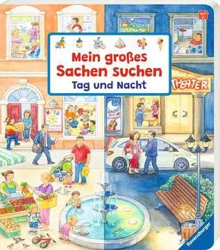 43770 Babybücher und Pappbilderbücher Mein großes Sachen suchen: Tag und Nacht von Ravensburger 2