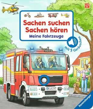 43771 Babybücher und Pappbilderbücher Sachen suchen, Sachen hören: Meine Fahrzeuge von Ravensburger 1