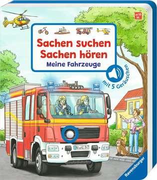 43771 Babybücher und Pappbilderbücher Sachen suchen, Sachen hören: Meine Fahrzeuge von Ravensburger 2