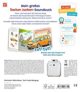 43771 Babybücher und Pappbilderbücher Sachen suchen, Sachen hören: Meine Fahrzeuge von Ravensburger 3