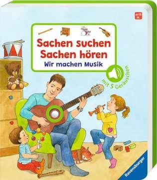 43772 Babybücher und Pappbilderbücher Sachen suchen, Sachen hören: Wir machen Musik von Ravensburger 2