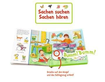 43772 Babybücher und Pappbilderbücher Sachen suchen, Sachen hören: Wir machen Musik von Ravensburger 6