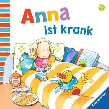 43782 Babybücher und Pappbilderbücher Anna ist krank von Ravensburger 1