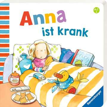 43782 Babybücher und Pappbilderbücher Anna ist krank von Ravensburger 2