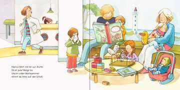43782 Babybücher und Pappbilderbücher Anna ist krank von Ravensburger 3