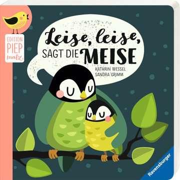 43787 Babybücher und Pappbilderbücher Leise, leise, sagt die Meise von Ravensburger 2