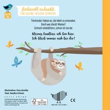 43788 Babybücher und Pappbilderbücher Hallo, kleines Kuschelkind von Ravensburger 3