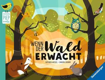 43789 Babybücher und Pappbilderbücher Wenn der Wald erwacht von Ravensburger 1