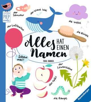 43790 Babybücher und Pappbilderbücher Alles hat einen Namen von Ravensburger 1