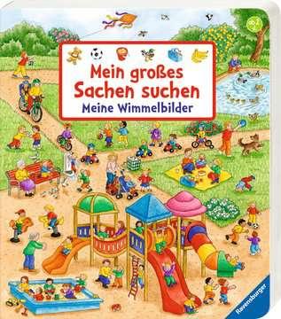 43791 Babybücher und Pappbilderbücher Mein großes Sachen suchen: Meine Wimmelbilder von Ravensburger 2