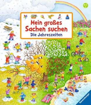 43792 Babybücher und Pappbilderbücher Mein großes Sachen suchen: Die Jahreszeiten von Ravensburger 1