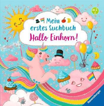 43795 Babybücher und Pappbilderbücher Mein erstes Suchbuch: Hallo, Einhorn! von Ravensburger 1