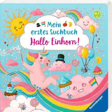 43795 Babybücher und Pappbilderbücher Mein erstes Suchbuch: Hallo, Einhorn! von Ravensburger 2