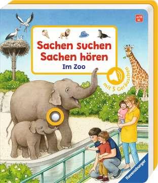 43803 Babybücher und Pappbilderbücher Sachen suchen, Sachen hören: Im Zoo von Ravensburger 2