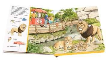 43803 Babybücher und Pappbilderbücher Sachen suchen, Sachen hören: Im Zoo von Ravensburger 4
