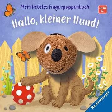 43805 Babybücher und Pappbilderbücher Mein liebstes Fingerpuppenbuch: Hallo, kleiner Hund! von Ravensburger 1
