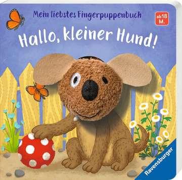 43805 Babybücher und Pappbilderbücher Mein liebstes Fingerpuppenbuch: Hallo, kleiner Hund! von Ravensburger 2