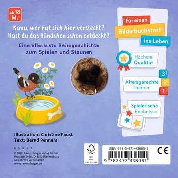 43805 Babybücher und Pappbilderbücher Mein liebstes Fingerpuppenbuch: Hallo, kleiner Hund! von Ravensburger 3