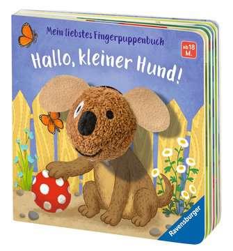 43805 Babybücher und Pappbilderbücher Mein liebstes Fingerpuppenbuch: Hallo, kleiner Hund! von Ravensburger 4