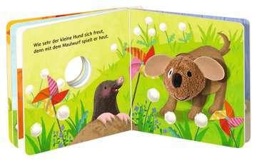 43805 Babybücher und Pappbilderbücher Mein liebstes Fingerpuppenbuch: Hallo, kleiner Hund! von Ravensburger 5